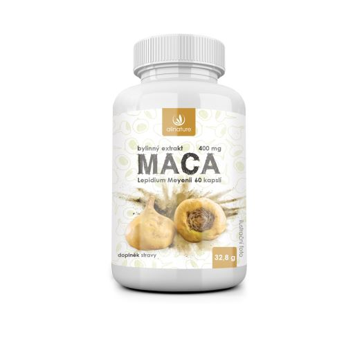 Allnature Maca Herb Extract 60 cps.