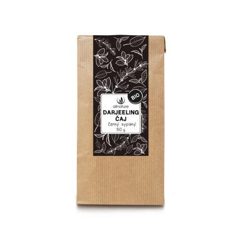 Allnature Darjeeling černý čaj sypaný BIO 50 g