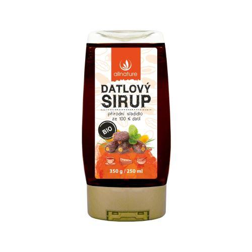 Allnature Datlový sirup BIO 250 ml