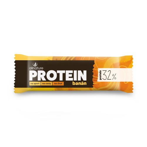 Allnature Protein Bar 32% Banana 35 g