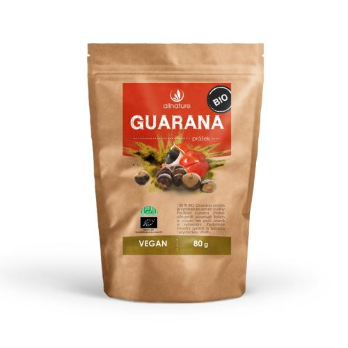 Allnature Guarana Powder Organic 80 g