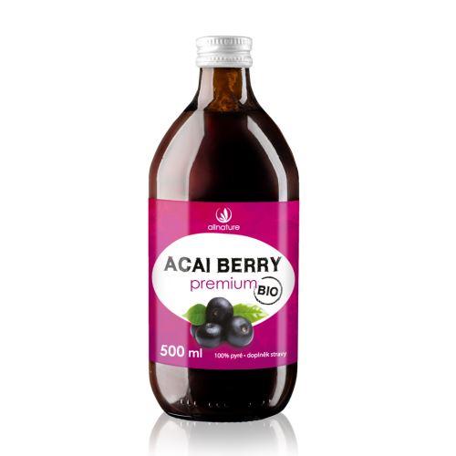 Allnature Organic Acai Berry Juice 100% 500 ml