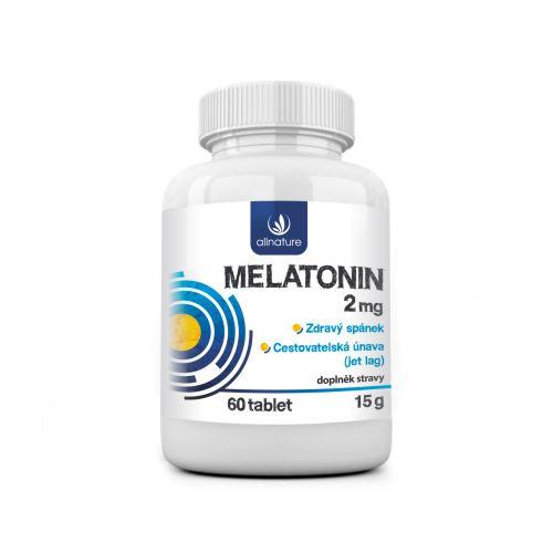 Allnature Melatonin 2 mg 60 tbl.