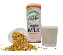 Qwrkee Veganské hrachové rostlinné mléko neslazené 1000 ml