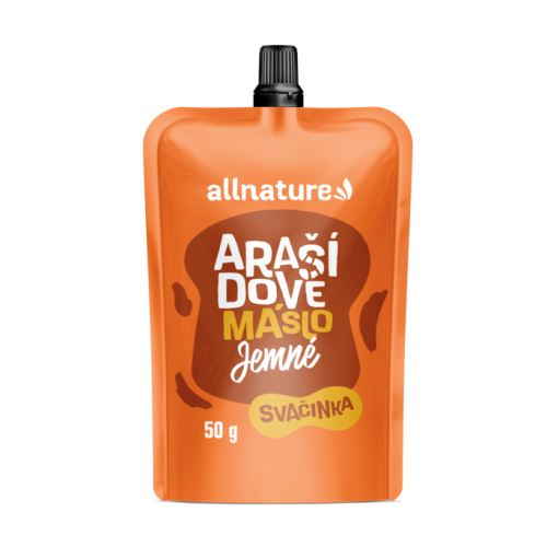 Allnature Peanut Butter Smooth 50 g