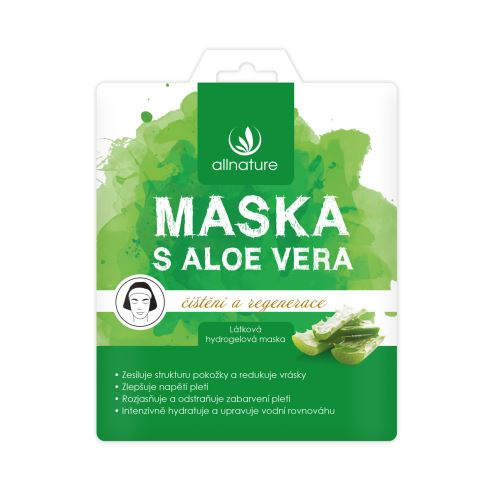 Allnature Facial Mask Aloe Vera 23 ml