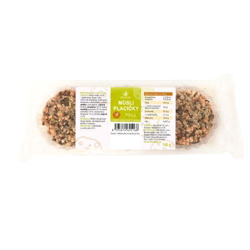 Allnature Muesli Biscuit Natur 120 g