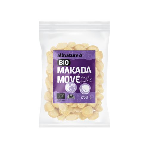 Allnature Makadamové ořechy BIO 250 g