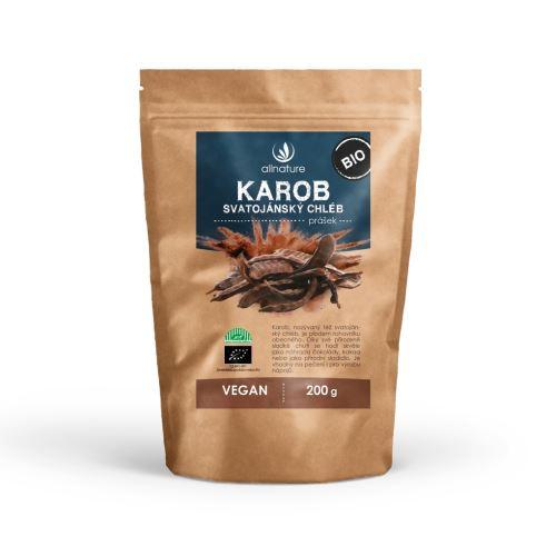 Allnature Organic Carob Powder 200 g