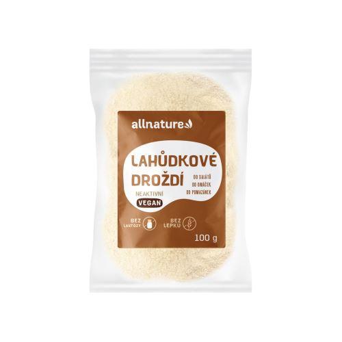 Allnature Lahůdkové droždí neaktivní 100 g