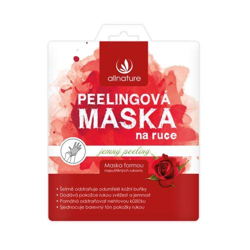 Allnature Maska jemná peelingová na ruce 36 ml (1 pár)