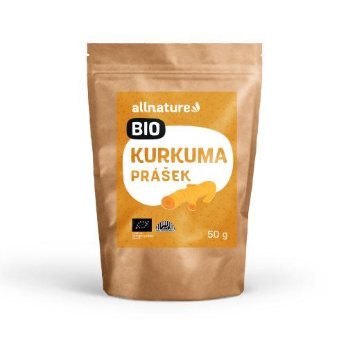Allnature Turmeric Powder Organic 50 g