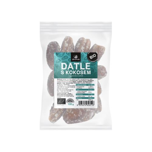 Allnature Organic Dates with Coconut 100 g