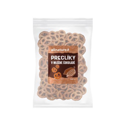 Allnature Preclíky v mléčné čokoládě 500 g