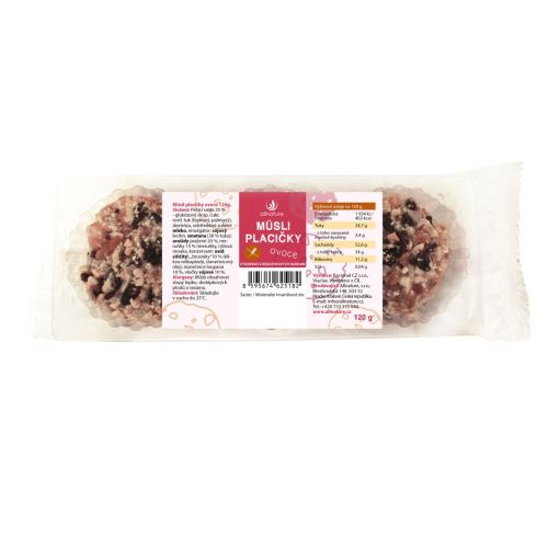 Allnature Muesli Biscuit Fruit 120 g