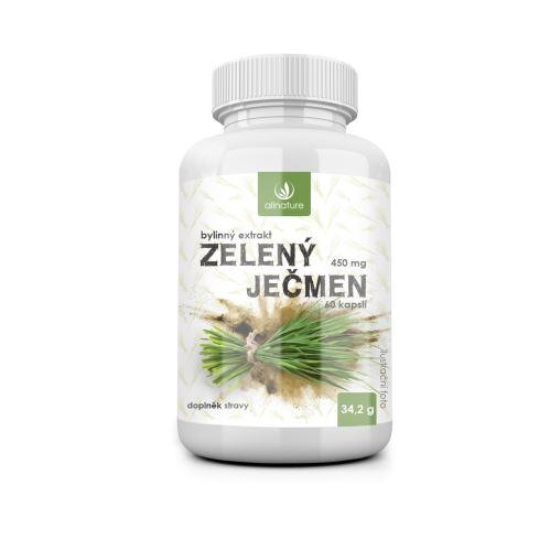 Allnature Zelený ječmen bylinný extrakt 60 cps.