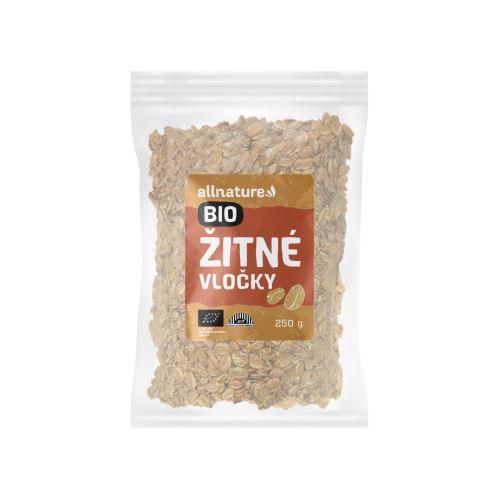 Allnature Rye Flakes Organic 250 g