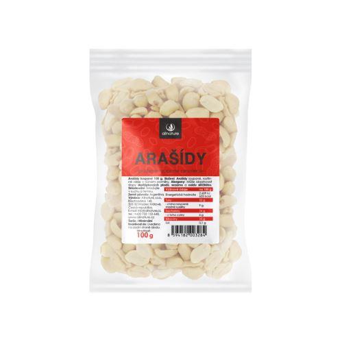 Allnature Roasted Peanuts unsalted peeled 100 g