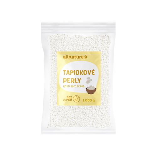 Allnature Tapiokové perly 1000 g