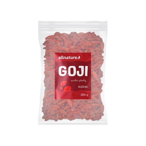 Allnature Goji - Kustovnice čínská sušená 250 g