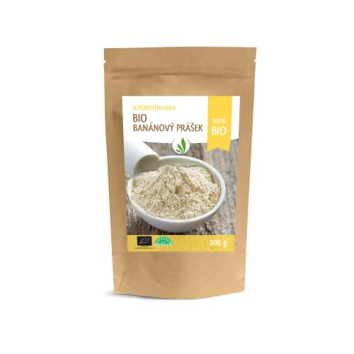 Allnature Banana powder BIO 200 g