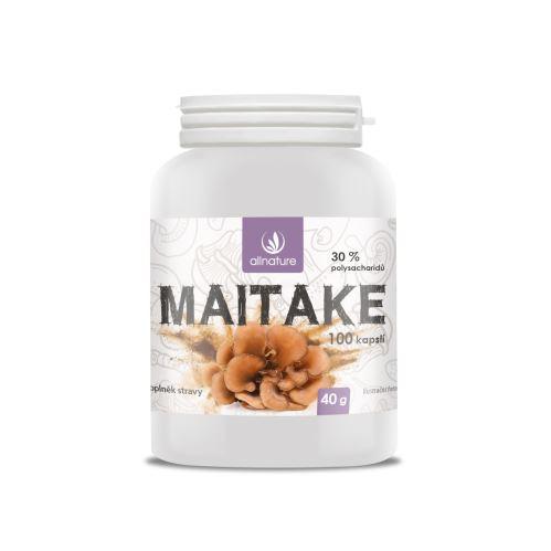 Allnature Maitake kapsle 100 kps.