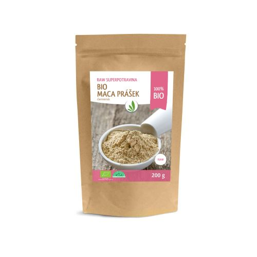 Allnature Peruvian Maca red powder BIO RAW 200 g