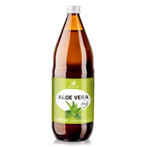 Allnature Organic Aloe Vera 100% juice 1000 ml