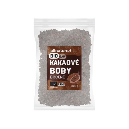 Allnature RAW BIO Cocoa beans nibs 200 g