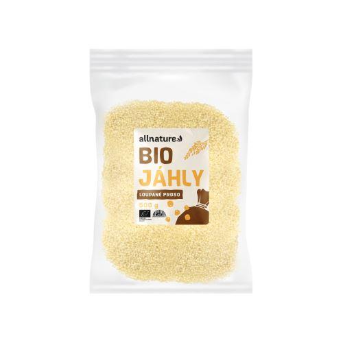 Allnature Hulled Millet Organic 500 g