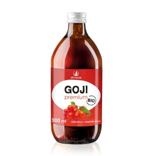 Allnature Goji - Kustovnice čínská Premium BIO 500 ml