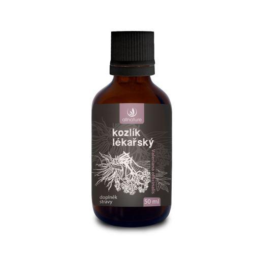 Allnature Kozlík lékařský bylinné kapky 50 ml