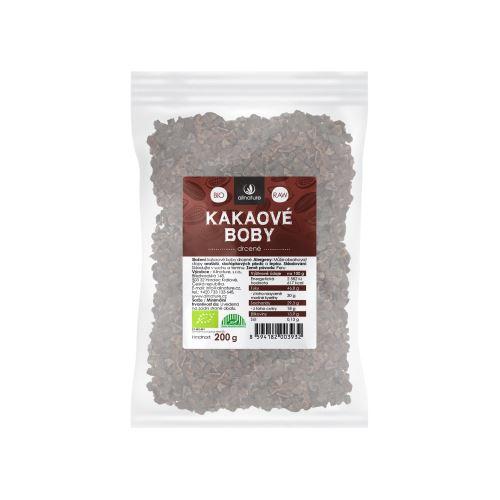 Allnature Organic Raw Cacao Nibs 200 g