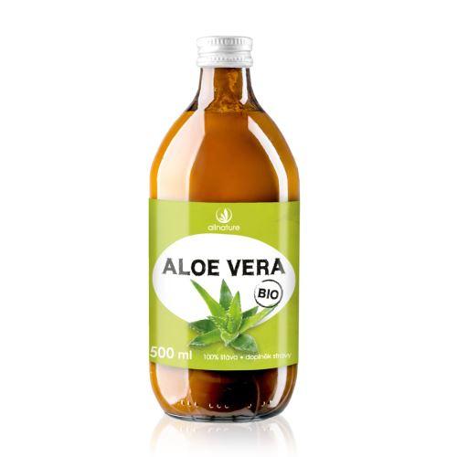 Allnature Organic Aloe Vera 100% juice 500 ml