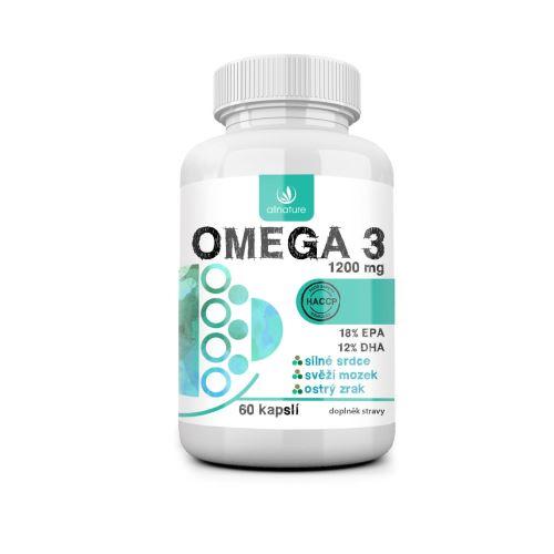 Allnature Omega 3 60 cps.