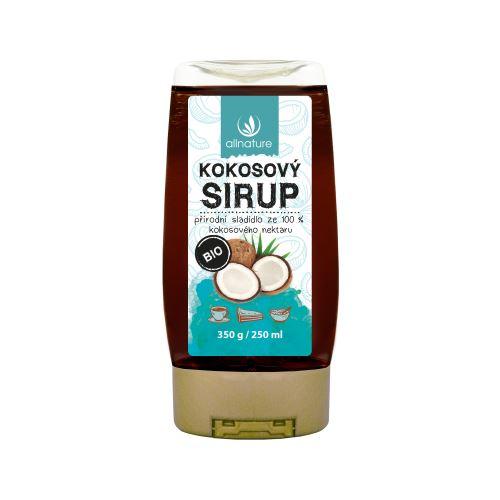 Allnature Coconut sirup organic 250 ml