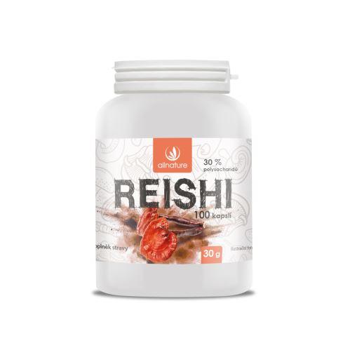 Allnature Reishi capsules 100 cps