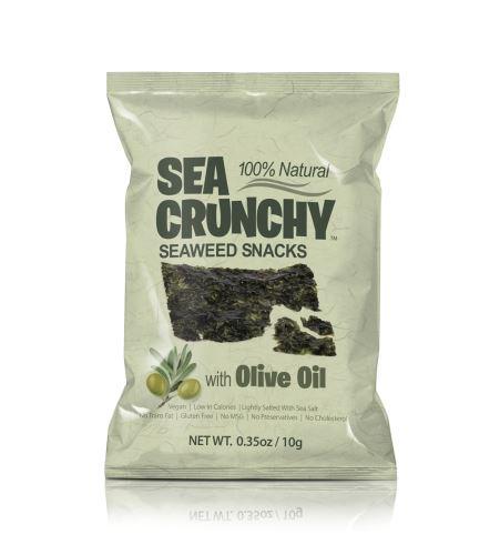 Sea Crunchy Snack s olivovým olejem 10 g