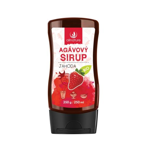 Organic Agave Syrup Strawberry 350 g