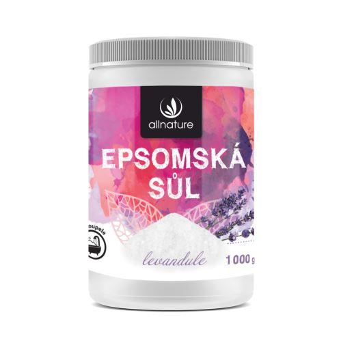 Allnature Epsom Salt Lavender 1000 g