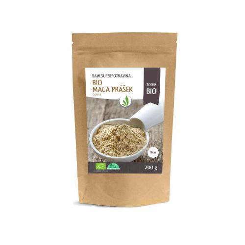 Allnature Peruvian Maca black powder BIO RAW 200 g