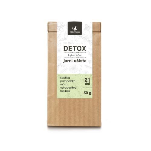 Allnature Detox Herbal Tea 50 g