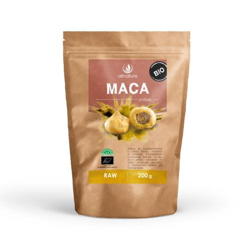 Allnature Maca Powder ORG/RAW 200 g