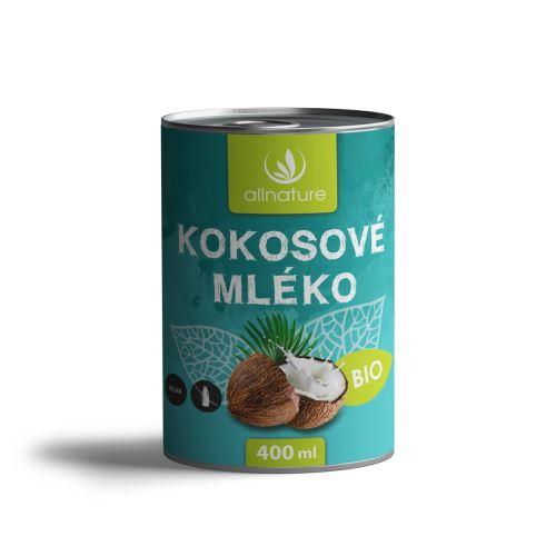 Allnature Coconut Milk Organic 400 ml