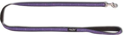 Vodítko pro psa nylonové - fialové se vzorem - 2 x 150 cm