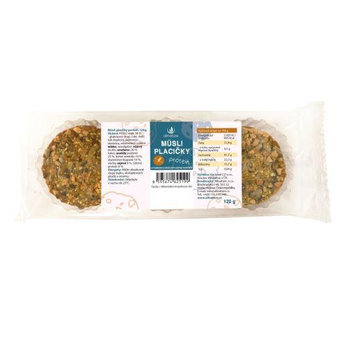 Allnature Müsli placičky protein 120 g