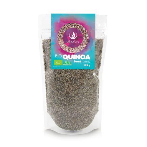 Allnature Black Quinoa flakes 150 g