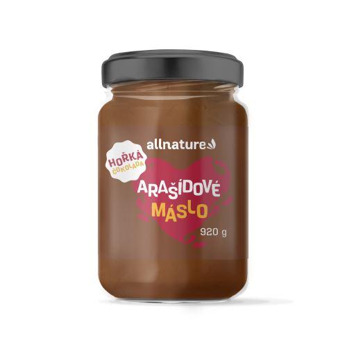 Allnature Arašídové máslo s hořkou čokoládou 920 g