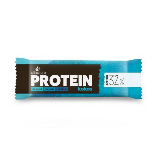 Allnature Protein Bar 32% Coconut 35 g