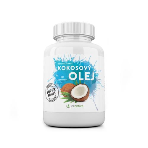 Allnature Coconut Oil 60 caps